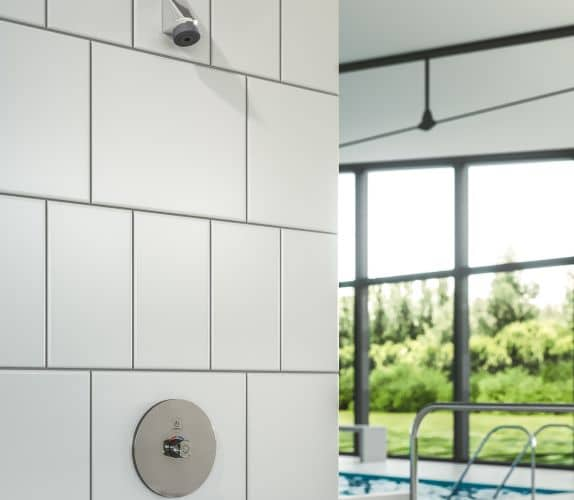 Presto Box Touch Thermostatique mitigeur douche encastrable à la piscine